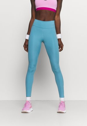 ONE - Tights - cerulean/white