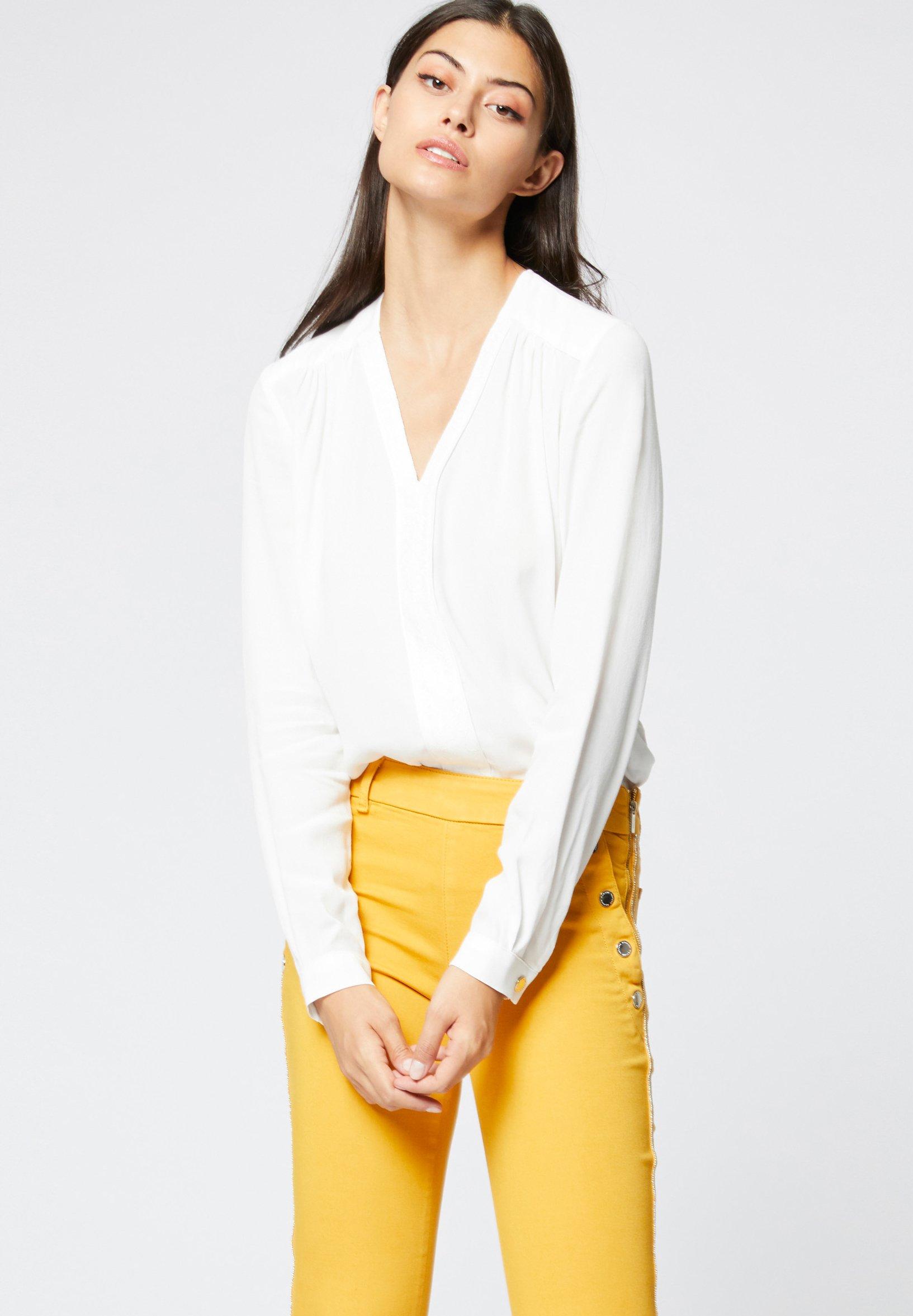 Morgan Blouse - off-white - Tops & T-shirts Femme v0omN