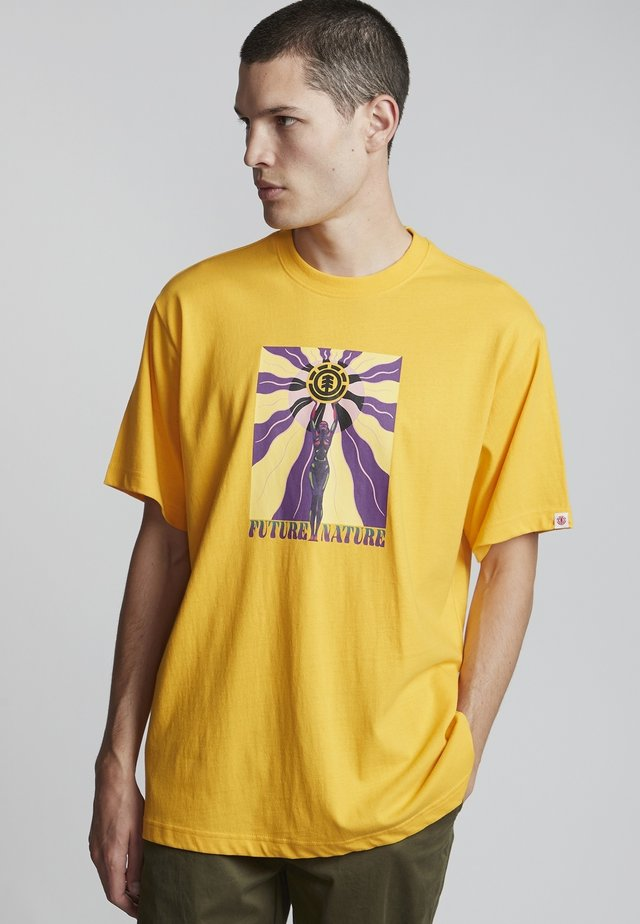 MABLE  - T-shirt print - gold