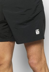 Obey Clothing - EASY RELAXED - Shorts - black - 4