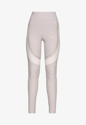 ONPJACINTE  - Leggings - Trousers - ashes of roses/lilac ash/ white