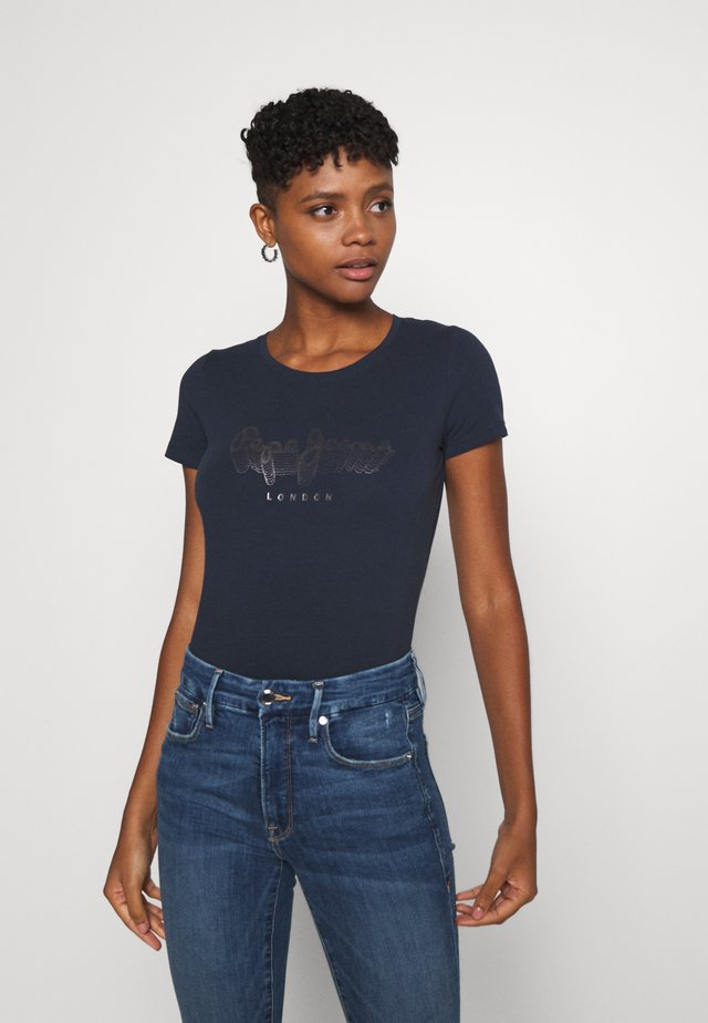 ANNA - T-shirts med print - admiral