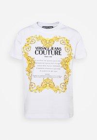 Versace Jeans Couture - LADY  - Triko spotiskem - optical white - 6
