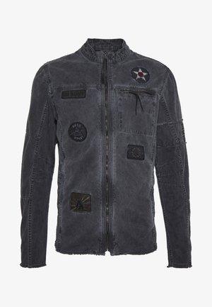 BE THEO PAT - Denim jacket - schwarz