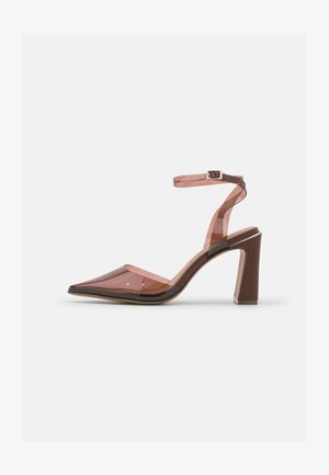 VEGAN DAMARA - High heels - dark brown