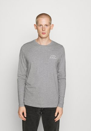 JJHERO TEE  - Long sleeved top - grey melange