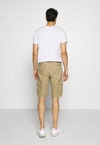 Superdry - Short - dress beige - 2