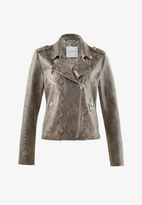 Alba Moda - Faux leather jacket - grau - 2