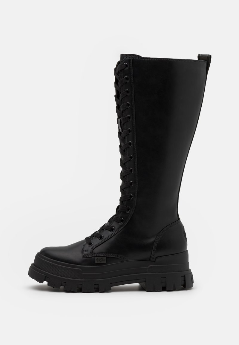 Buffalo - ASPHA ON - Lace-up boots - black