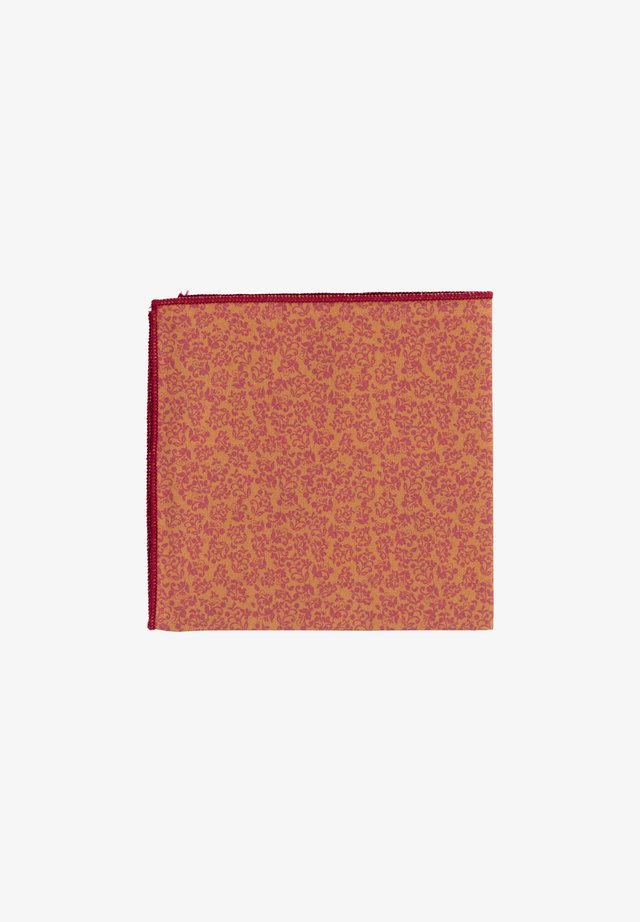 FIORE - Pocket square - gold/rot