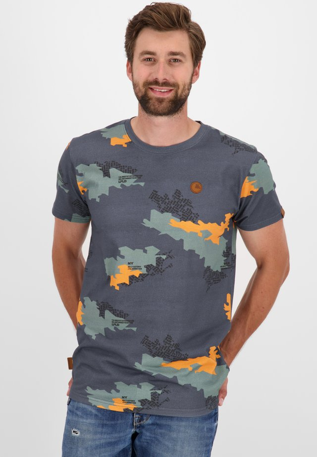 NICAK  - Print T-shirt - stone