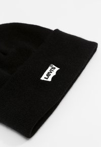 Levi's® - BATWING EMBROIDERED SLOUCHY BEANIE - Mössa - regular black - 3