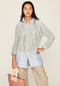 Pepe Jeans - ELLE - Sweter - mousse - 0
