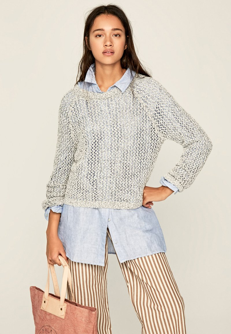 Pepe Jeans - ELLE - Sweter - mousse