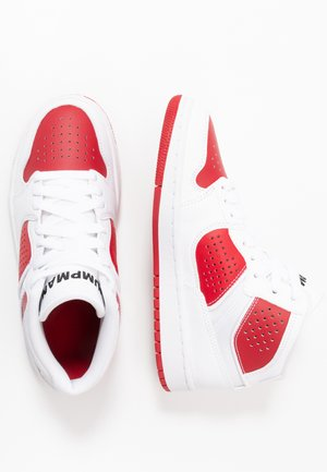 ACCESS - Basketball shoes - white/black/gym red