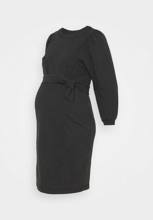 PCMGAHOA DRESS - Trikoomekko - black/over dyed