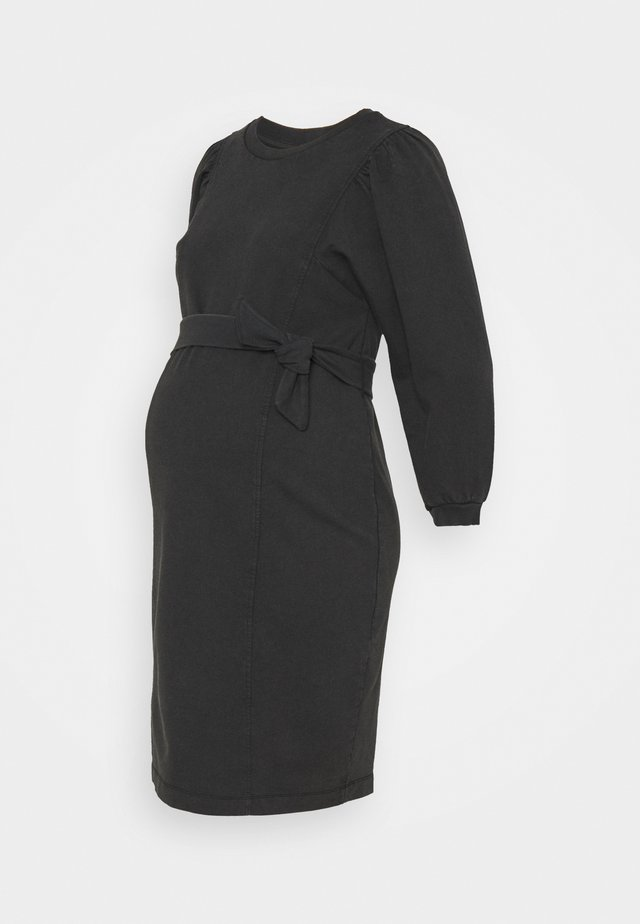 PCMGAHOA DRESS - Jerseyjurk - black/over dyed