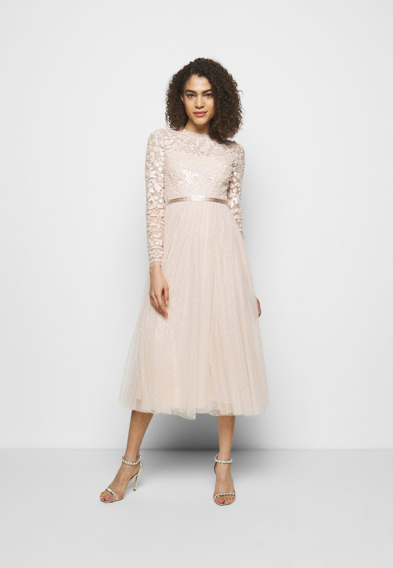 Needle & Thread - TEMPEST BODICE BALLERINA DRESS - Vestido de fiesta - strawberry icing