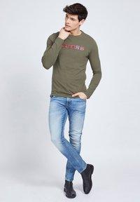 Guess - Long sleeved top - groen - 1
