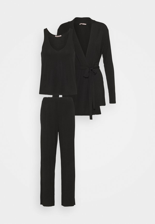 3 PIECE LOUNGE SET - Pyjama - black