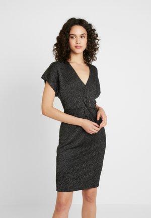 ONLKAYLIN DRESS - Vestido de cóctel - black/silver