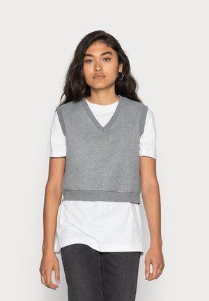 CORDELIA VEST - Jumper - dark grey