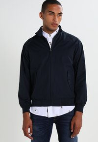 KnowledgeCotton Apparel - CATALINA  - Bomber Jacket - total eclipse - 0