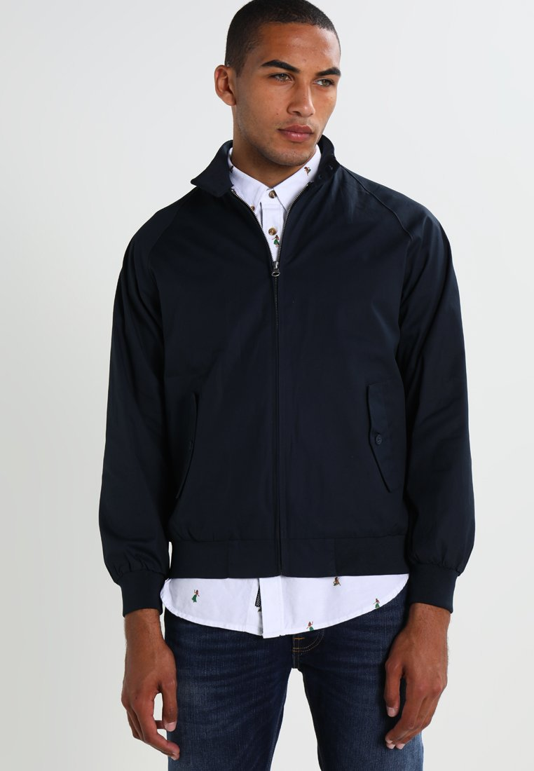KnowledgeCotton Apparel - CATALINA  - Bomber Jacket - total eclipse