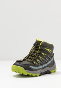 Lurchi - TRISTAN-TEX - Lace-up ankle boots - olive/citroen - 2
