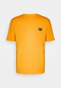 Caterpillar - SMALL LOGO TSHIRT - T-shirt basic - yellow - 4
