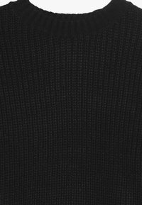 New Look 915 Generation - LONGLINE CREW NECK JUMPER  - Maglione - black - 4