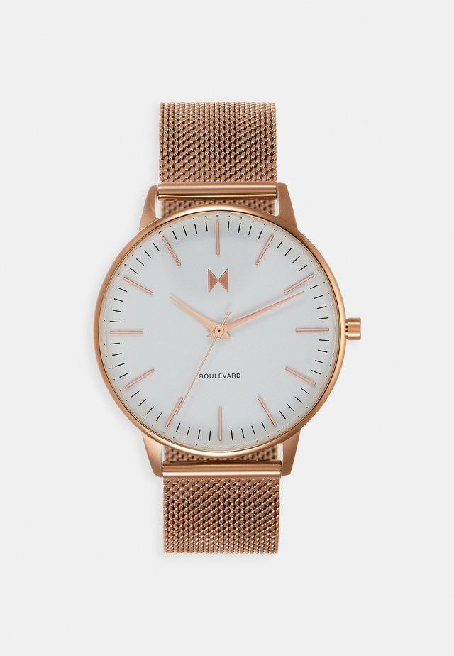 BOULEVARD MALIBU - Klokke - rose gold-coloured
