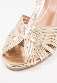 Anna Field - Højhælede sandaletter / Højhælede sandaler - gold - 6