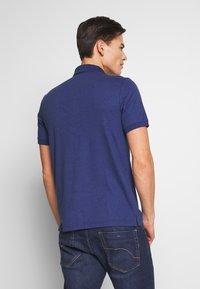 Calvin Klein Tailored - SOFT INTERLOCK SLIM - Poloshirt - blue - 2
