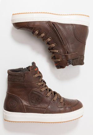 SIL MID - High-top trainers - brown