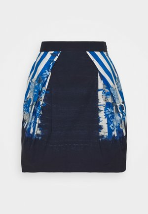 SKIRT - A-line skirt - dark blue