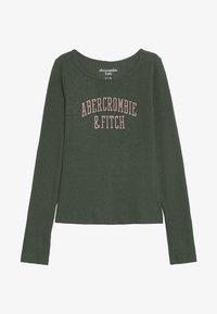 Abercrombie & Fitch - LOGO COZY  - Longsleeve - green - 2