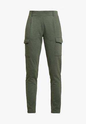 DENA SOLID - Teplákové kalhoty - dark army