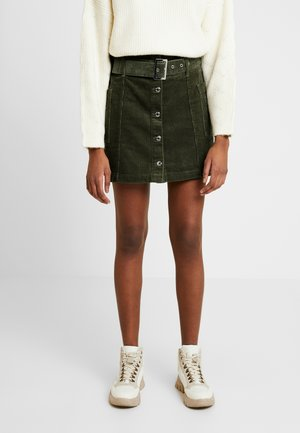 SKIRT - Mini skirt - khaki