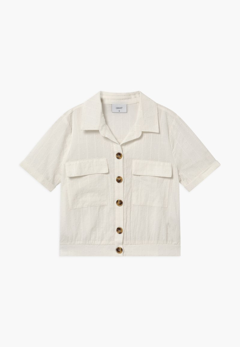 Grunt - DEE - Button-down blouse - snow