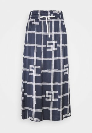 MIDI SKIRT WITH ALLOVER PRINT - Pencil skirt - combo