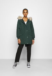 ONLY - ONLSELINE QUILTED - Parka - scarab - 1