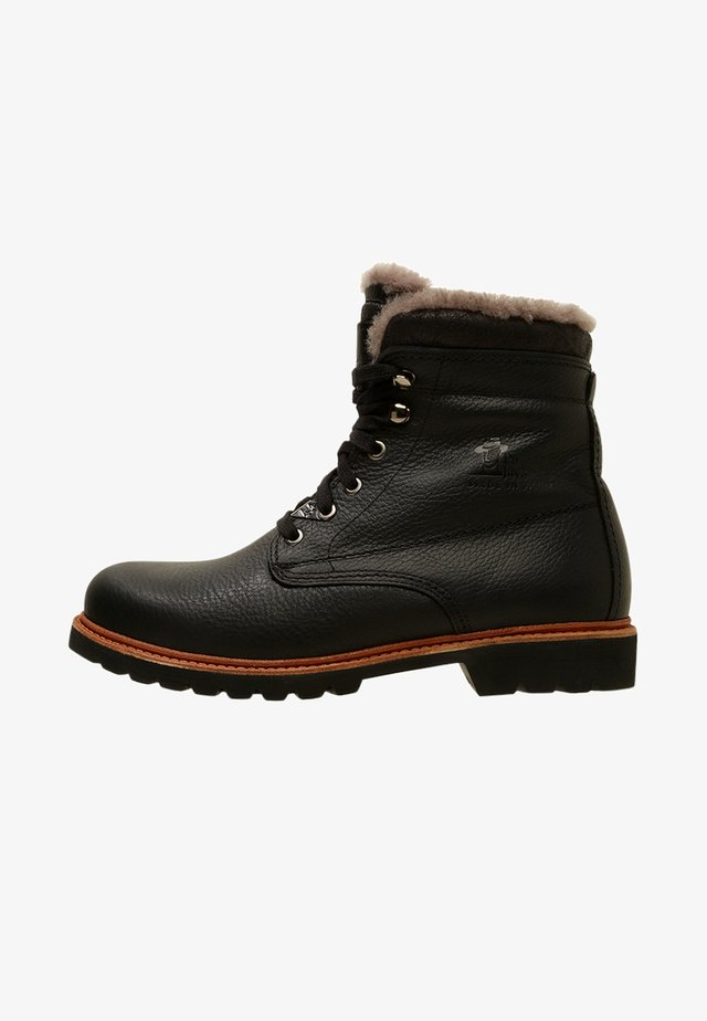 AVIATOR IGLOO - Botines con cordones - black