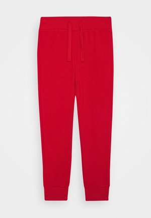 BASIC BOY - Tracksuit bottoms - red