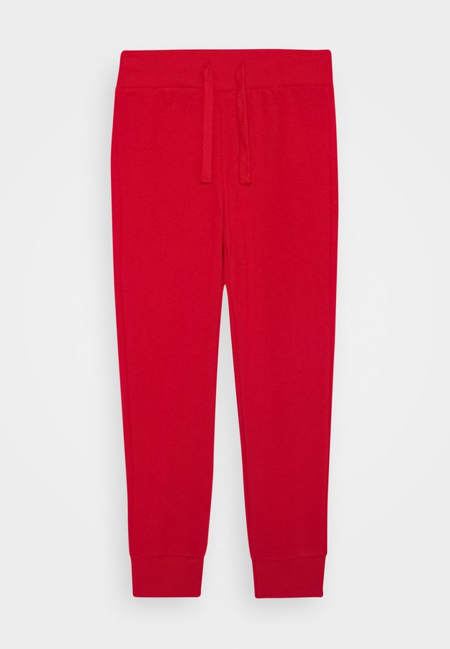 BASIC BOY - Spodnie treningowe - red