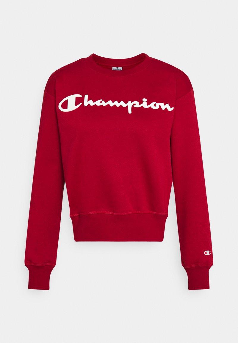 Champion - CREWNECK LEGACY - Collegepaita - dark red