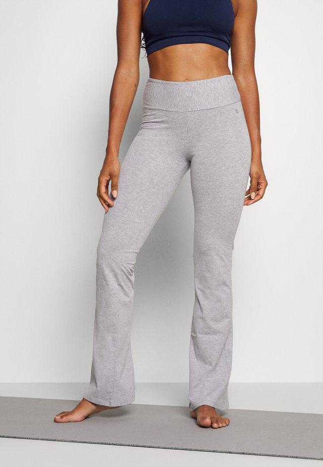 PANTA JAZZ - Teplákové kalhoty - grey melange