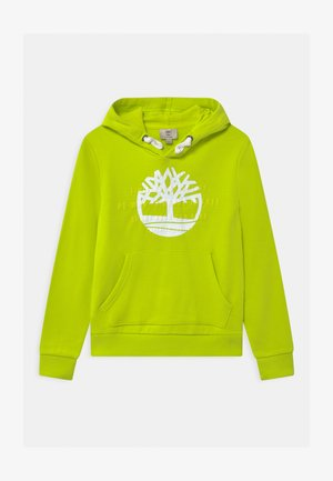 HOODED - Hoodie - green lemon