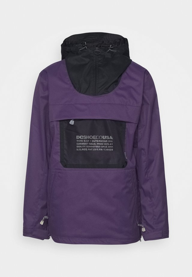 ASAP ANORAK - Snowboardjas - grape