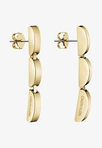 Calvin Klein - Earrings - gold-coloured - 0